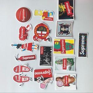 15 Supreme Stickers